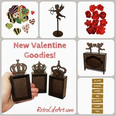 New Valentine's Day goodies from Retro Café Art Gallery! www.RetroCafeArt.com