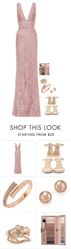 """""""Untitled #426"""" by h1234l on Polyvore featuring Elie Saab, Giuseppe Zanotti, BCBGeneration, Bloomingdale's and Shaun Leane"""