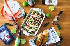 Poppamiehen pulled pork tacot täydelliseen meksikolaiseen iltaan! #poppamies #savustus #grillaus #maustaminen #ruoka #ruuanlaitto #mauste #mexmex Pulled Pork, Chili, Cheese, Food, Shredded Pork, Chile, Essen, Meals, Chilis