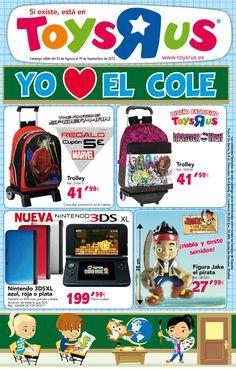 """Toys""""R""""us, encuentra todo lo que necesitas para que los peques estén listos para la vuelta al cole.  http://www.ofertia.com/tiendas/toys-r-us"""