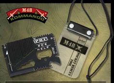 M48 Kommando PRT Credit Card Survival Tool