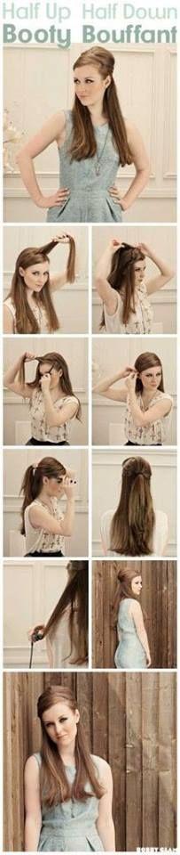 Peinado paso a paso....