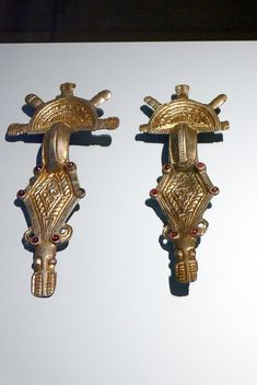 Ostrogothic brooches (c. 500) from Emilia Romagna, Italy