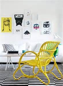 bright yellow art - Search