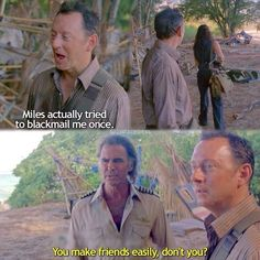 Lost - Frank Lapidus and Ben Linus
