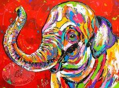 """""""De vrolijke olifant"""""""