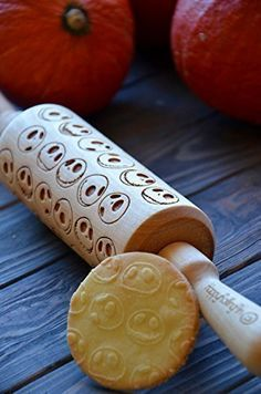 Rolling Pin wooden with Jack Skellington Rolling Pin engraved for baking Beige colour Gift for Her Kitchen tools Wedding gift for couple Housewarming for new home present for Mom - By Enjoy The Wood. Welcome to our shop! Rolling-pins and rollers can be really housewarming and pretty gift for your friends, kids and your kitchen. So, you can choose any pattern from our shop or propose your own. Rolling pins and rollers are made of birch wood. Also they are covered with oil in order to keep...