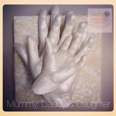 3d Baby Hand And Foot Cast Keepsake Pinterest Baby