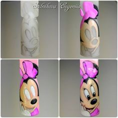 Новости Kawaii Nail Art, Cute Nail Art, Cute Nails, Nail Art Mickey, Mickey Mouse Nails, Nail Art Dessin, Animal Nail Art, Nails Polish, Painted Nail Art