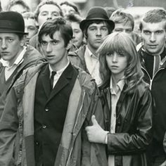 Mod's in 'Quadrophenia' via Fred Perry Classic Tv, Classic Films, Mod Look, Paul Weller, Mod Girl, The Jam Band, Film Movie, Movies, Teddy Boys