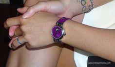 Edox LaPassion Mireia Belmonte con el nuevo reloj en la muñeca