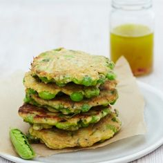 Honestly Healthy: Green Chia Fritters for conditioning