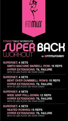 Super back Workout #GoodBackExercises