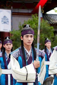 Hwarang: The Poet Warrior Youth (Hangul: 화랑; Hanja: 花郞; lit. Hwarang) is a South Korean television series starring Park Seo-joon, Go Ara and Park Hyung-sik.