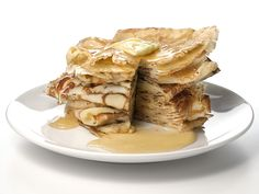 Thin and Lacy Pancakes - I'm thinking these would be like the ones served at the Eagles Pancake Breakfasts