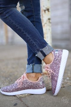 All That Sparkles Sneakers - Pink