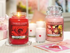 Yankee Candle heaven! Which do you prefer? True Rose or Fresh Cut Roses from Yankee Candle... In stock now! www.YankeeAromaDirect.co.uk
