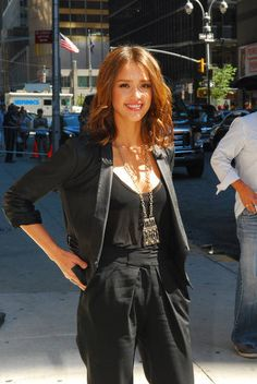 Jessica Alba - 'Late Show with David Letterman' - August 30, 2010
