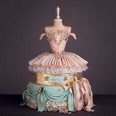 Amazing Ballerina Likes, 31 Comments - Cassiane Dorigon ( on Inst Ballet Cakes, Ballerina Cakes, Ballerina Birthday, Birthday Cake, Tutu Cakes, Fondant Cakes, Cupcake Cakes, Pretty Cakes, Beautiful Cakes