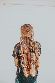 Cute Hairstyles For Teens, Teen Hairstyles, Pretty Hairstyles, Gossip Girl Serie, Estilo Hippie Chic, Coiffure Hair, Hippie Stil, Aesthetic Hair, Grunge Hair