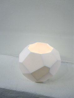 Porcelain candle holders - Camilla Brøyn