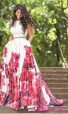 Dress for bridal shower or rehearsal dinner  - Style JO-34028 from PromGirl.com