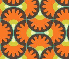Newretroswirl Fabric