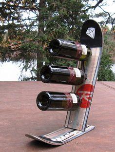 Snow Ski Wine Rack weitere Ideen: http://www.skimoebel.at/