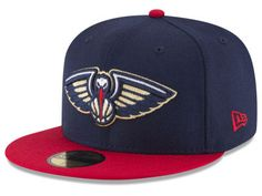 huge selection of af7ab 97694 New Orleans Pelicans Fitted Hat, Pelicans Fitted Caps