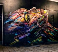 by Hopare in Anglet, France, 2015 #streetart