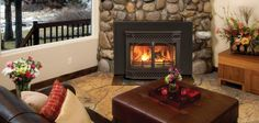 Merrimack Wood Burning Inserts by Vermont Castings. Available at Higgins Energy Alternatives in Barre, MA. Wood Fireplace Inserts, Wood Insert, Wood, Rustic Fireplaces, Wood Stove, Wood Burning Insert, Room Ambiance, Wood Fireplace Surrounds, Fireplace