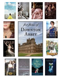 If you like #DowntonAbbey, try one of these #books
