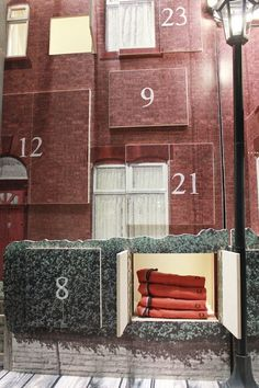 StudioXAG holiday windows for Fred Perry