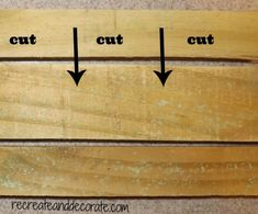 how to make a rustic wooden sign