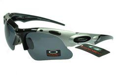 1306600e0af Oakley Photochromic Sunglasses Black Silver Frame Black Lens 0822 Summer  Sunglasses