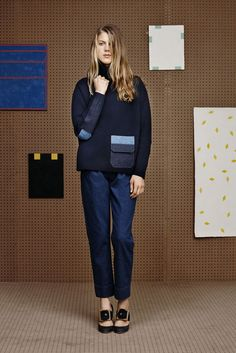 BAND OF OUTSIDERS 2015-16 FW NY COLLECTION 019
