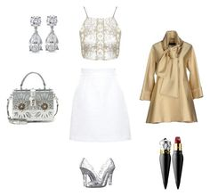 """""""Cinderella like"""" by eva-skok on Polyvore featuring Dolce&Gabbana, Topshop, Elie Saab and Christian Louboutin"""