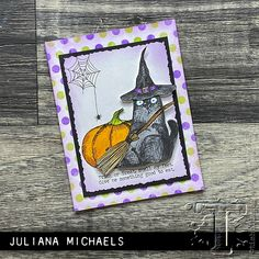 Halloween Tags, Fall Halloween, Halloween Crafts, Halloween Ideas, Tim Holtz, Paper Art Projects, Stampers Anonymous, Cat Cards, Artist Trading Cards
