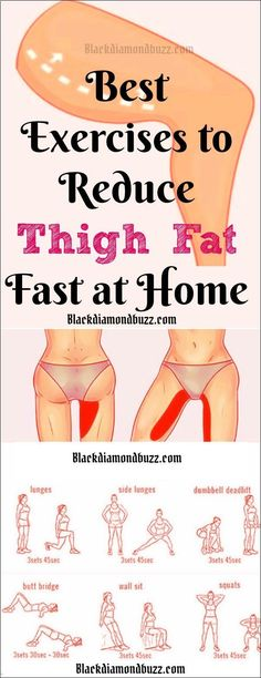 Belly Fat Burner Workout - Best Thigh Fat Workouts to lose inner thigh fat, hips, and tone legs at home. These exercises will reduce thighs and hips fast in 7 days.Try It! #weightlossexercises Belly Fat Burner Workout