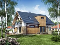 Projekt+Archimedes Home Fashion, Countryside, Pergola, Cabin, House Architecture, House Styles, Home Decor, Home Architecture, Cabins
