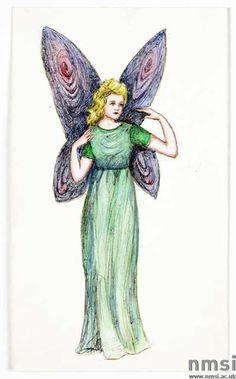 Fairy drawn by Elsie Wright