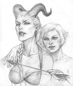 Madshoemaker.tumblr.com Sera and super sexy Adaar