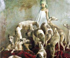 pinturas con perros - Buscar con Google
