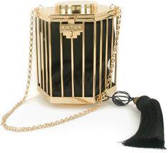 Kotur La Cage Aux Folles Pouch with Tassel #clutch  #handbag  www.finditforweddings.com