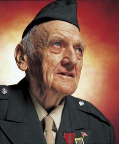 Walter Fischer, Private First Class  Battle of The Bulge 1944 by Andres Serrano