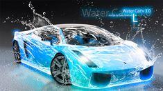 Lamborghini-Gallardo-Water-Car-Blue-2012-HD-Wallpapers-design-by-Tony-Kokhan-[www.el-tony.com]