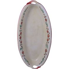 Offered for purchase is a beautiful Bavaria Arts Crafts Floral Motif Handled Dish The dish is in excellent condition. Autumn Decorating, Bavaria, Floral Motif, Arts And Crafts, Porcelain, Dishes, Tableware, Porcelain Ceramics, Dinnerware