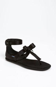 Prada T-Strap Sandal available at #Nordstrom