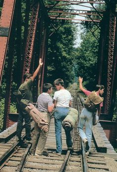 """It happens sometimes. Friends come in and out of our lives, like busboys in a restaurant.""- Stand by Me"