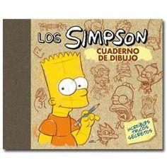 Los Simpson Cuaderno de dibujo de Matt Groening